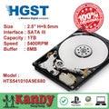 HGST Travelstar 1 TB hdd 2.5 SATA 5400 rpm disco duro portátil sabit interno unidad de disco duro interno portátil hd disco duro de 9.5mm