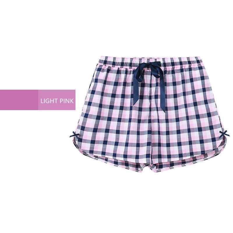 6e8aac5ae4ef ... ORIGINAL CILER Women Sleepwear Summer Print 100% Cotton Pajama Shorts  Women Loose Sleepwear Bottoms ...
