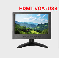 CE Rohs approved 7 inch LCD touch screen monitor with PCT