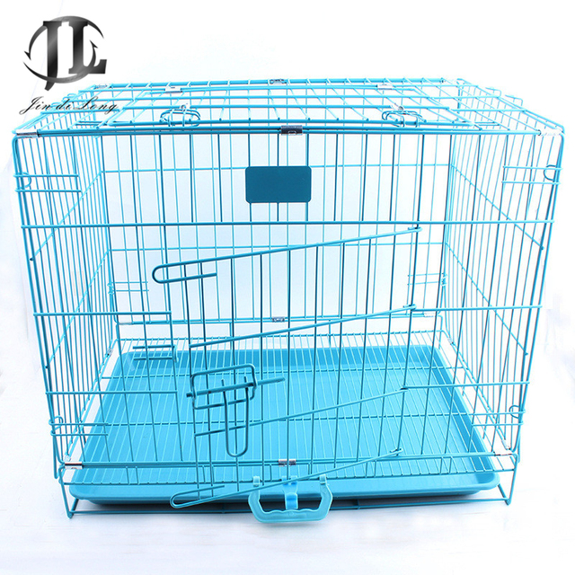 Collapsible Wire Pet Cage In Bold Good Spray Paint Quality Insurance ...