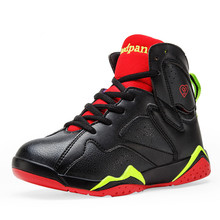 Big Boys Basketball Shoes Shockproof PU Kids Sneakers Running Walking Chaussure Basket Enfant Fille Outdoor Sport Shoes Online