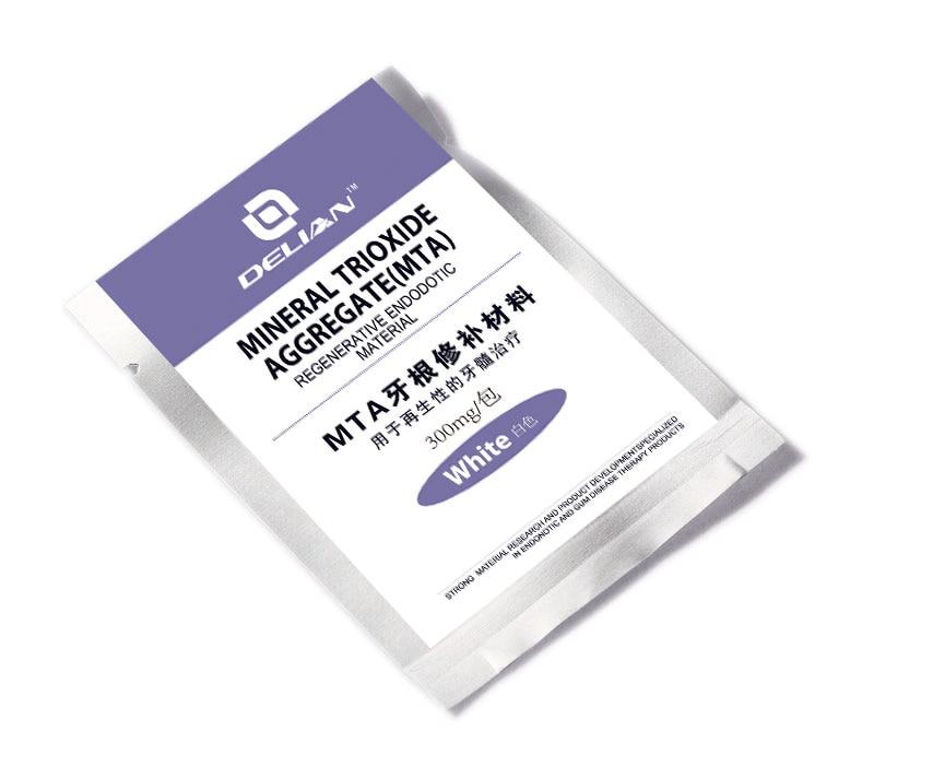 Delian Dental Regenerative Endodontic Material  Mineral Trioxide Aggregate ( MTA ) White