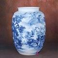 Керамика Huang Xiaoling ручная роспись фарфоровая ваза цветочные горы домашний интерьер украшение для гостиной
