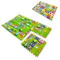 6 pçs/set Crianças Brinquedos Puzzle Tapete Mats 60*60*2 cm Tapete Puzzle Bebê Tapetes de jogo Espuma de EVA Mat Crianças Tapete Tapete Em Desenvolvimento Goma Eva