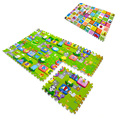 6pcs/set Kids Toys Carpet Puzzle Mats 60*60*2cm Rug Puzzle Baby Play Mats EVA Mat Children Foam Carpet Developing Rug Goma Eva