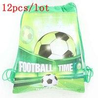 12ピース/ロットサッカー印刷巾