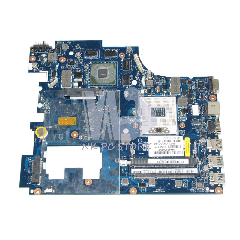 QIWG7 LA-7983P Main Board For Lenovo G780 Laptop Motherboard 17.3'' HM76 DDR3 GT635M 2GB Discrete Graphics qiwg7 la 7983p main board for lenovo g780 laptop motherboard hm76 gma hd ddr3 100