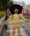 High Quality fashionable dog mascot fursuit pa dog Mascot Costume Carnival fancy Dress Adult Size Free Shipping pw