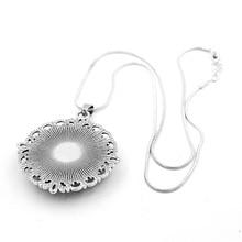 Glass Zodiac Snake Chain Necklace for Women