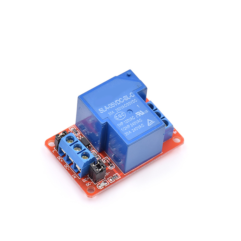 5PCS 5V 30A Two-way Isolation Relay Module High/low Level Trigger 5V 30A 1-Channel Relay Module