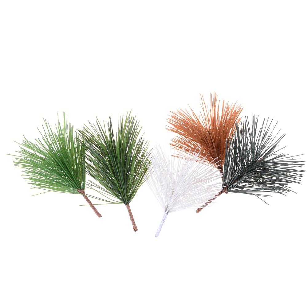 Christmas Tree Needles: Artificial Christmas Plant Pine Needles Xmas Tree Garland