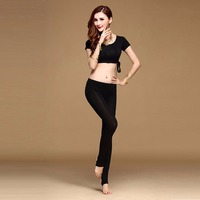 2018 New Style Sex Women Belly Dance Costumes 2 Pieces Top Skirt Pant Style A B C Modal Indian Long Gypsy Bollywood Tribal