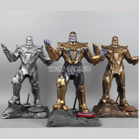 3 Цвета 35 см Смола Бюст танос модели Мстители 3 Мстители: бесконечная война часть I/II Collection статуя танос фигурку