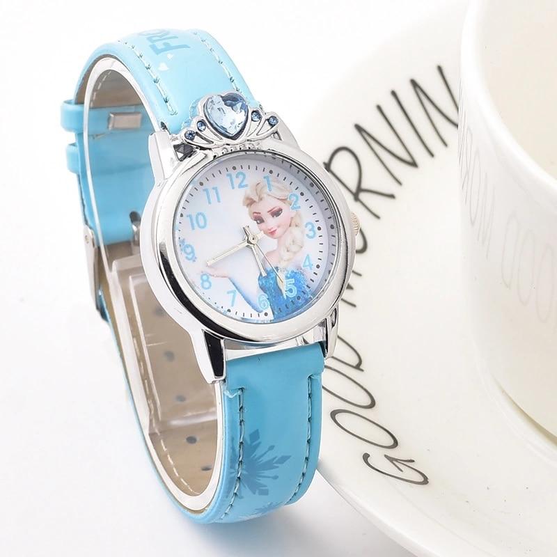 Princess Phiya's Cute Cartoon Student Quartz Watch  Children Girls Watches  Gifts For Girls
