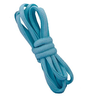"""100 см/3"""" овальные плоские шнурки Шнурки кроссовок 24 цветов для выбора - Цвет: No 15light turquoise"""