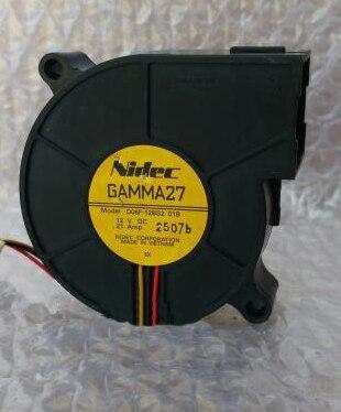 New Original FOR NIDEC D06F-12SS1 02B 6025 60X60X25MM 6CM 12V 0.18A 3WIRE Cooling fan