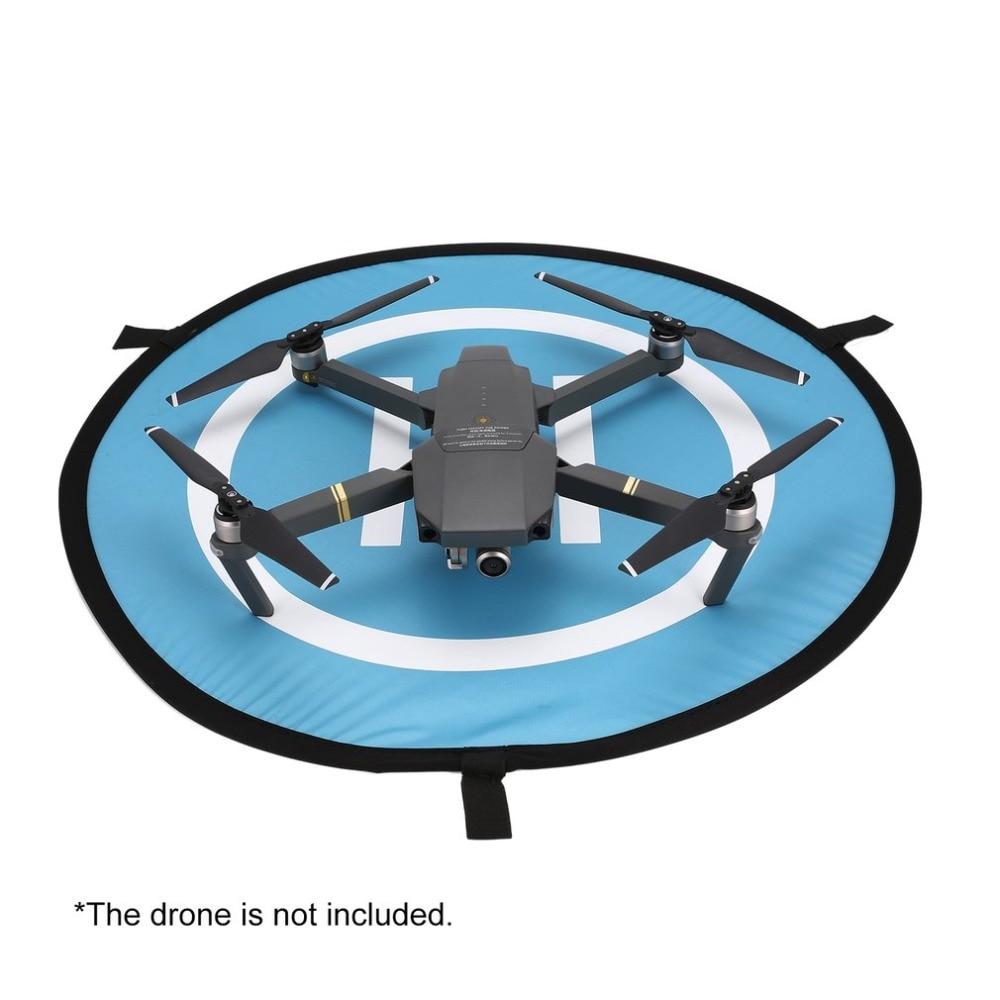 55cm Fast-fold Landing Pad Universal FPV Drone Parking Apron Foldable Pad For DJI Spark Mavic Pro FPV Racing Drone Accessory