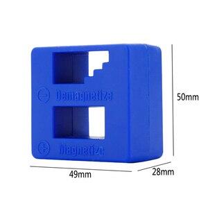 Image 4 - Magnetizador e desmagnetizador para ferramentas, para ponteiras e chave de fenda, acessório para magnetização rápida de ferramentas caseira