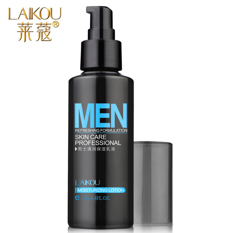 LAIKOU Men's Emulsion Refreshing Skin Care Professional Cosmetics Firming Oil Control Deep Hydrating Moisturizing Lotion nourish balance refreshing hand lotion объем 100 мл