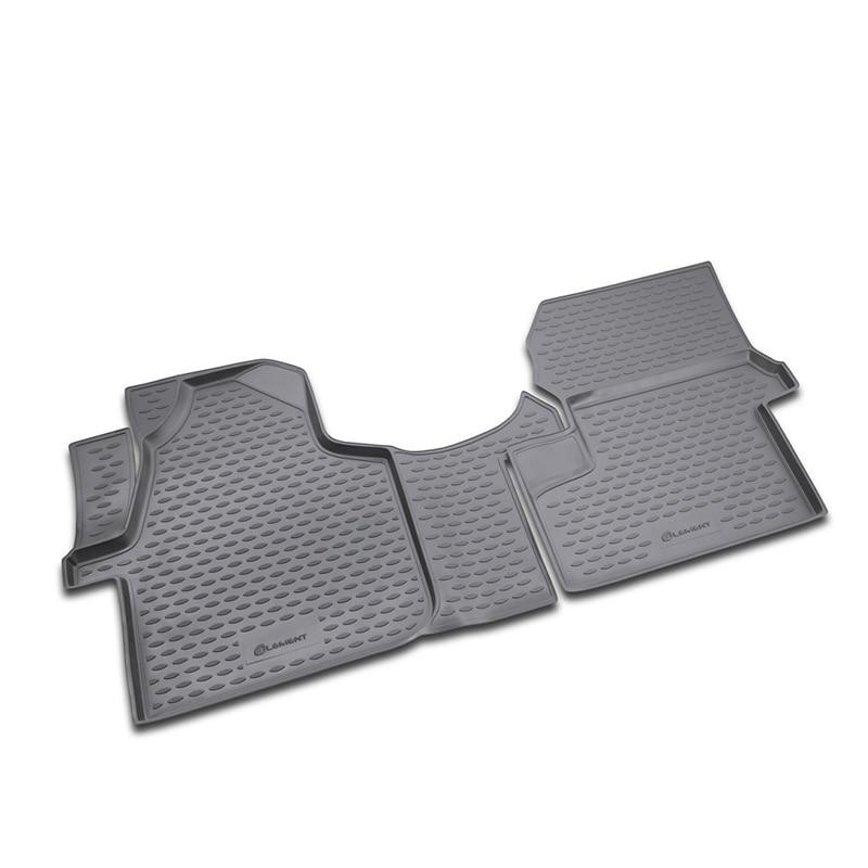 Carpet mats interior For VW Crafter 10/2008->, 2 PCs (polyurethane) все цены