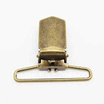 36mm metal suspender clips with bronze metal suspender clamp wholesale