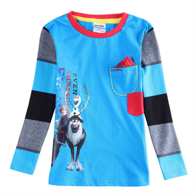 new fashion design spring.autumn long sleeve baby boy's t shirts boys fashion  clothing  brand kids wear children shirts enfant