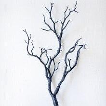 Пластиковые растения искусственные, свадебные украшения сушеное дерево домашний декор Павлин коралловые ветви J2Y