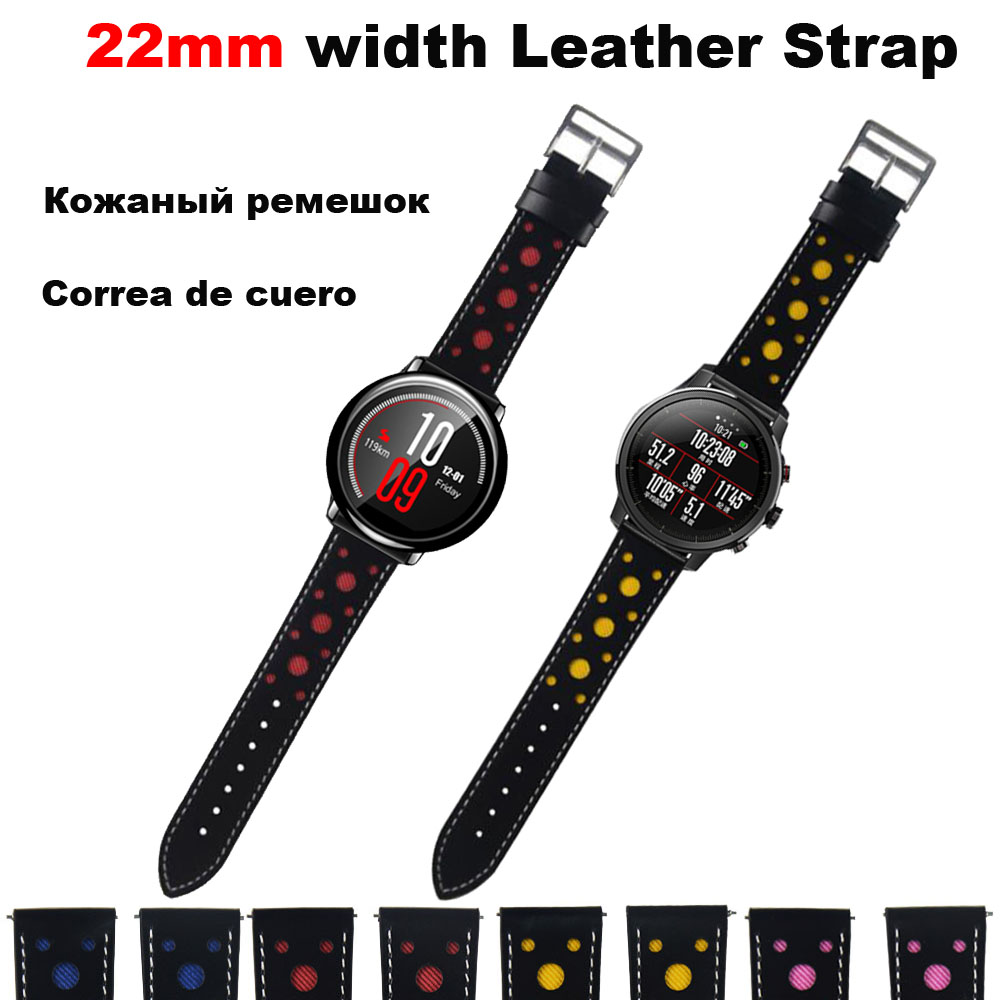 22mm Bracelet Band For Xiaomi Amazfit GTR 47mm Pace Stratos 2 Watch Strap For Samsung Gear S3 Galaxy Active 46mm Pulsera Correa in Smart Accessories from Consumer Electronics