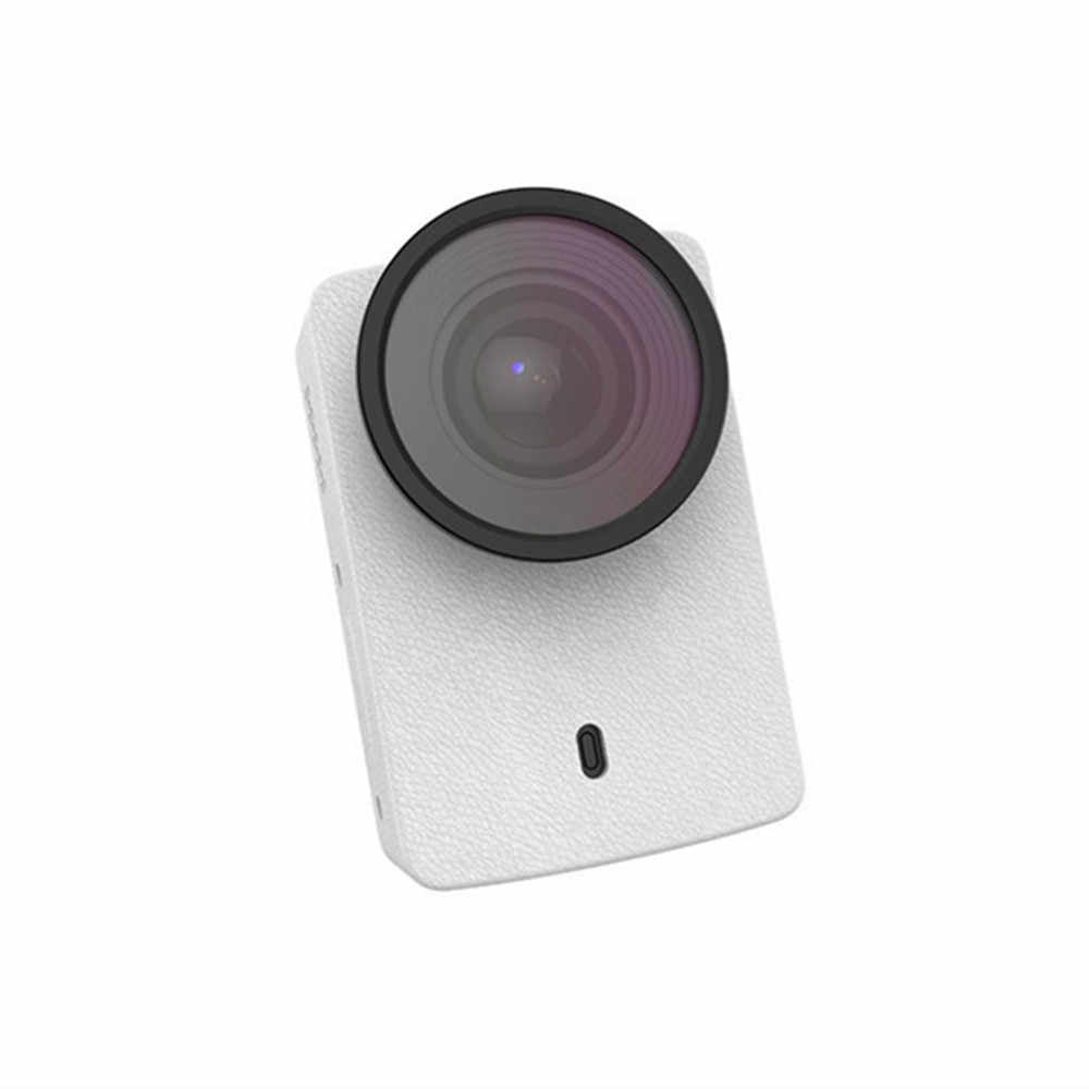 Оригинальный YI 4 K Защитный Объектив для экшн-камеры + PU кожаный чехол для Xiaomi Xiaoyi 4 K Аксессуары для экшн-камеры
