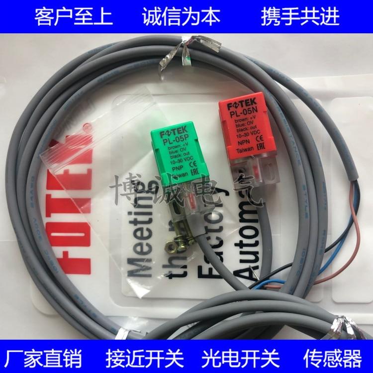 Spot FOTEK Yangming Proximity Switch PL-05N PL-05P Square Sensor Three-wire DC Normally Open