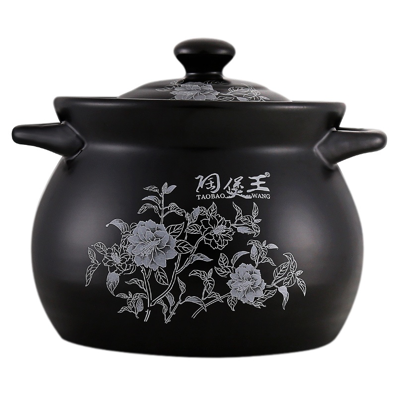White Gardenia Black Enameled Ceramic Soup Pots Stewpot Stewing Casserole Ceramic Cooking Pot Cookware Cocotte CeramiqueWhite Gardenia Black Enameled Ceramic Soup Pots Stewpot Stewing Casserole Ceramic Cooking Pot Cookware Cocotte Ceramique