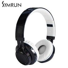 Symrun Bluetooth LED light Headset Headphones Headsets For Phone Computer Mp3 Bass Gaming Foldable Headphone Headset Gamer 7.1