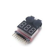 1 шт. 1-8S низковольтный звуковой сигнал Lipo батарея индикатор напряжения тестер для RC автомобилей RC лодка RC Дрон