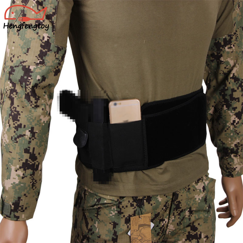 Multifunctional sports diving belt tactical belt elastic belt outdoor CS equipment
