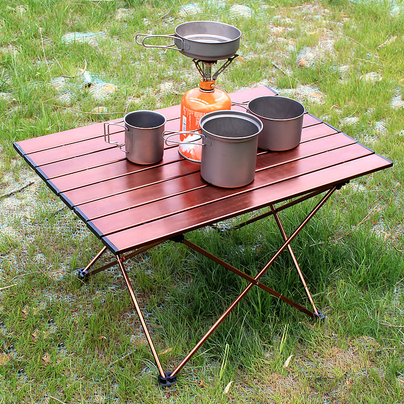 Outdoor Furniture Camping Table Aluminum Picnic Folding Table