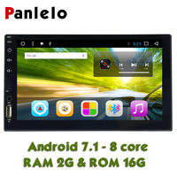 Panlelo Autoradio 2 Din Android 7.1 Octa Core 2G 16G Double Din Android 7 inch with Bluetooth GPS Car Radio 2din For KIA Hyundai