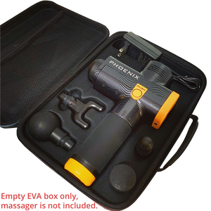 Image 4 - EVA Box for Massage Gun of 4 Massage Head & 1 Charger Travel Bag Portable Case Only Massager is Not Included Durable and Light