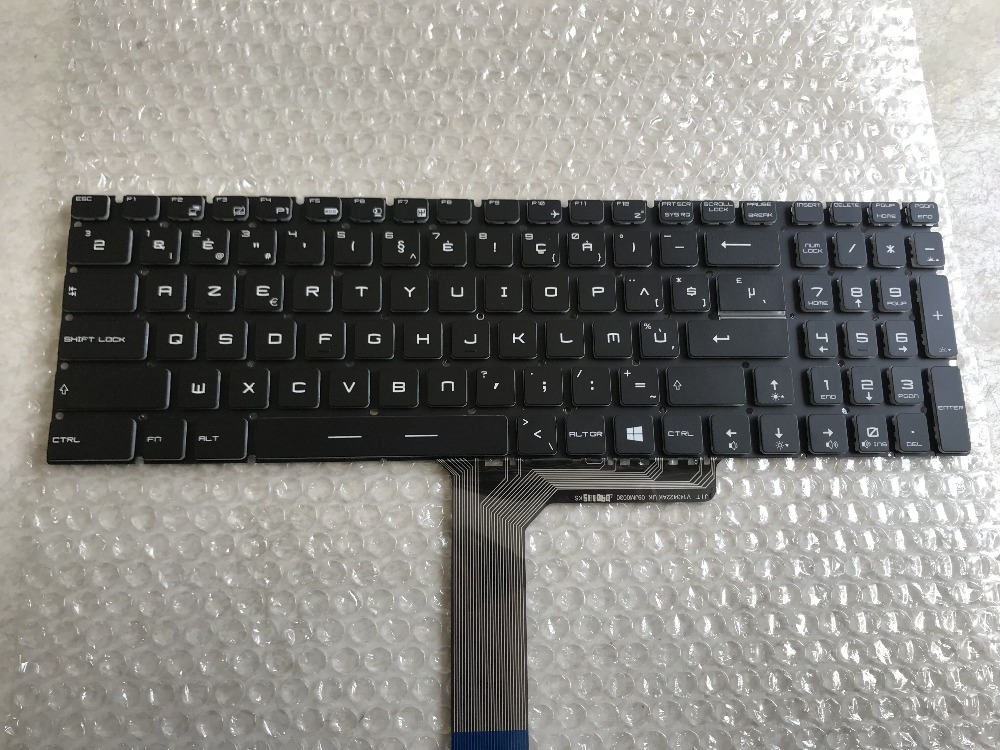 New keyboard for MSI GL72 GP72 GE62 GE72 GL62 GP60 GS70 GL72M 7RDX-1487RU WS60 16J9 Portuguese/Swiss/Italy/Belgium/CH layout
