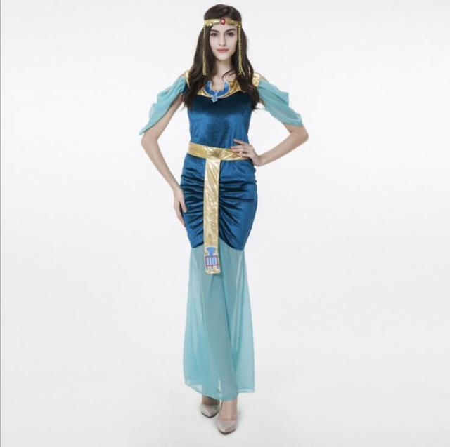 Slim Cleopatra Costumes For Women Fancy Dress Women Indian Queen Costume Sexy Egyptian Goddess Cosplay For  sc 1 st  AliExpress.com & Slim Cleopatra Costumes For Women Fancy Dress Women Indian Queen ...