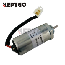 12V Stop Solenoid 897183-0140 MV1-70B for Isuzu Engine