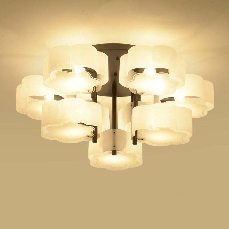 все цены на Europe Style Concise Creative Modern Art Fashion Ceiling Lamp Restaurant Bedroom Parlor Office Decoration Lamp Free Shipping онлайн