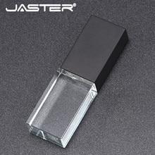 Joster 2019 новый пользовательский DIY 3D внутри логотип длинная стеклянная USB палка 2,0 флэш-накопитель