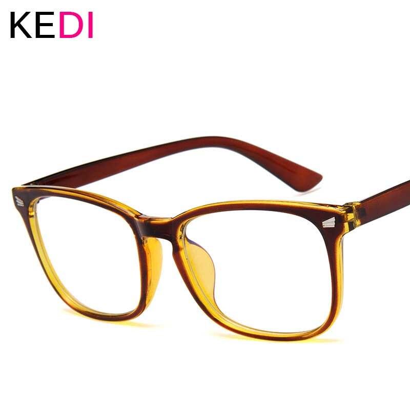 KEDI Blue Light Glasses Men Computer Glasses Gaming Goggles Transparent Eyewear Frame Women Anti Blue Ray Eyeglasses
