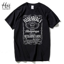 HanHent Walter White Casual Breaking Bad T Shirts Men Heisenberg Cotton Short sleeve T Shirts Man