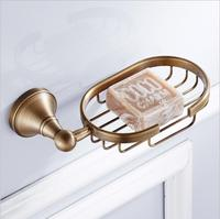 Hot Sale New European Style Antique Soap Basket Holder Brass Material Soap Holder Bathroom Accessories Soap