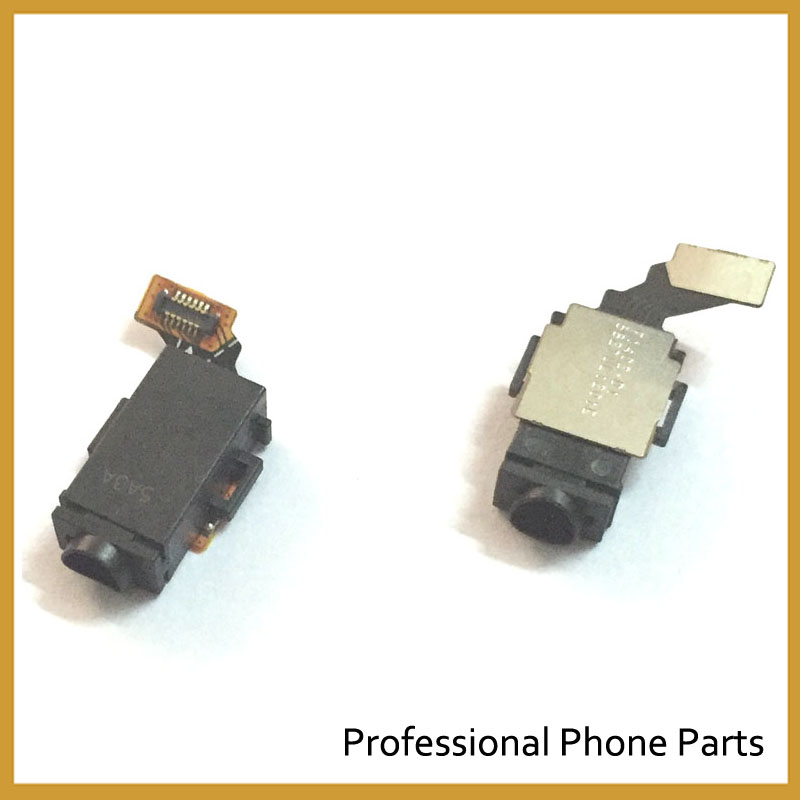Original New For Sony Xperia M4 Aqua E2303 Headphone Earphone Jack Audio Flex Cable Ribbon Replacement
