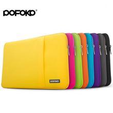 POFOKO Laptop Sleeve Bag Waterproof Notebook Handbag Case Anti-shock for MacBook Air Pro 11 12 13 14 15