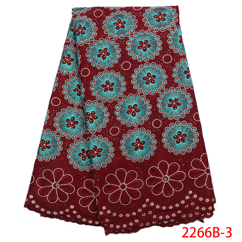 Nigerian Lace fabrics 2018 African Swiss Voile Lace High Quality Swiss Voile Lace in Switzerland stones For Wedding XZ2266B 2-in Lace from Home & Garden    1