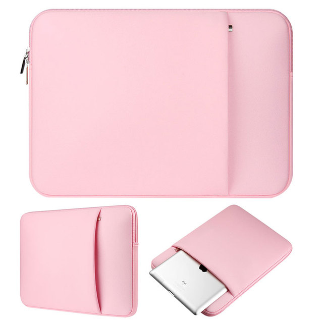 823e91ca80d Pink laptop notebook case sleeve carry bag Clutch Wallet Computer Pocket  Pouch for 11
