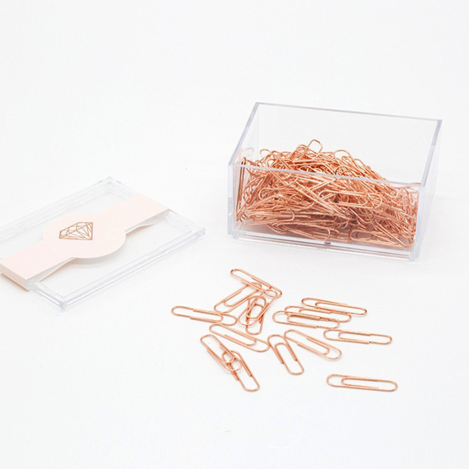 250 Pc Silver Metal Paper Clips Size 28 Mm FAST SHIPPING